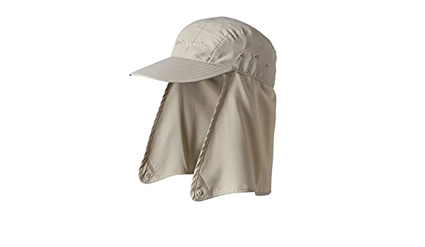 Patagonia Hats Bimini Stretch Fit Flap Cap - Natural Small Medium   Amazon.co.uk  Clothing f0b983399da