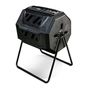 Excel Industries Plastic Tumbleton Compost Machine (Black)