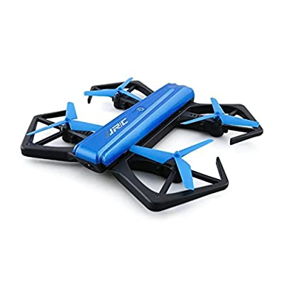 RC Drone Quadcopter H43WH Mini Foldable Selfie BNF BLUE with WiFi FPV 720P HD Pincer-shaped Guards G-sensor Mode