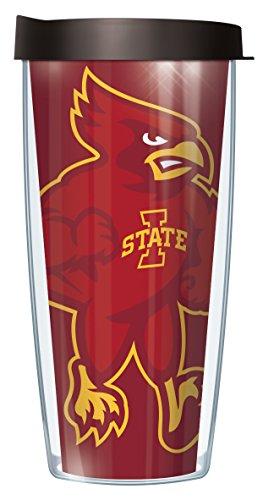 Iowa State University Traveler Tumbler Becher mit Deckel 22 Oz Large Logo -