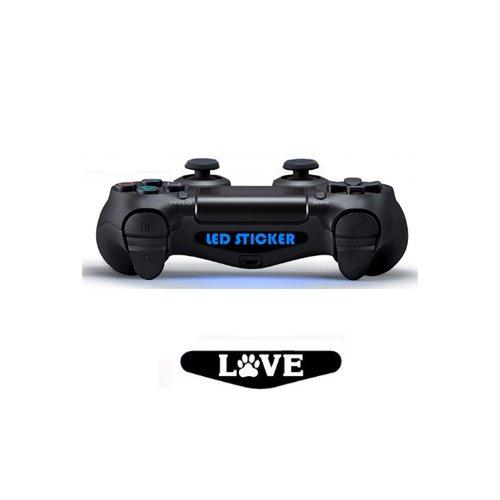 spedito-da-italia-led-sticker-skin-per-controller-dualshock-console-ps4-love