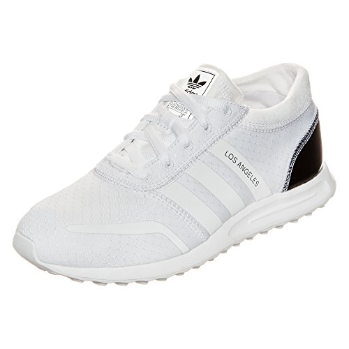 adidas Damen Los Angeles W Trainingsschuhe (43 1/3 EU, Weiß (Ftwr White/Ftwr - Los Damen Angeles Adidas Weiß