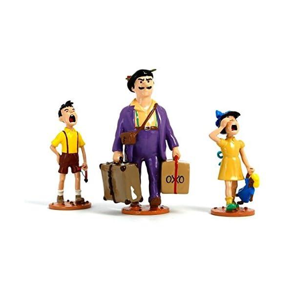 PIXI Figura Moulinsart: Tintín Serafín Latón con Sus Hijos - 46240 (2009) 1