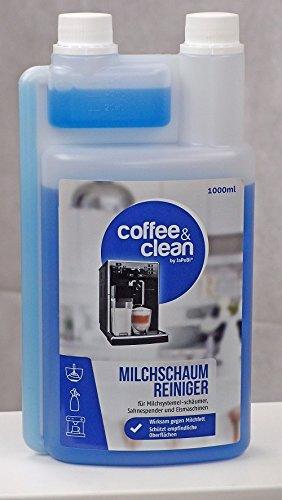 JaPeBi 1 Liter Milchschaumreiniger Milchschaumdüsenreiniger Kaffeevollautomaten Espressomaschinen...