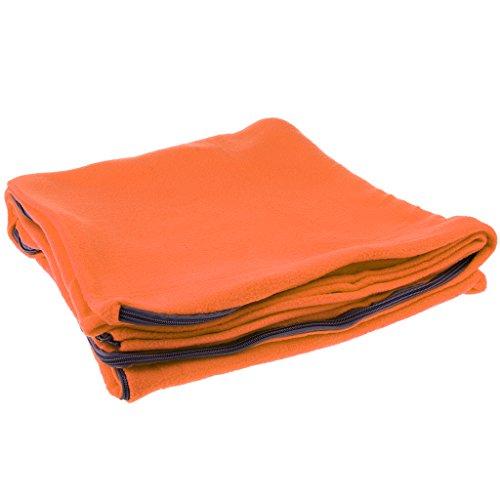 Baoblaze Premium Hüttenschlafsack aus Fleece Schlafsack Inlett Sommerschlafsack Reiseschlafsack...