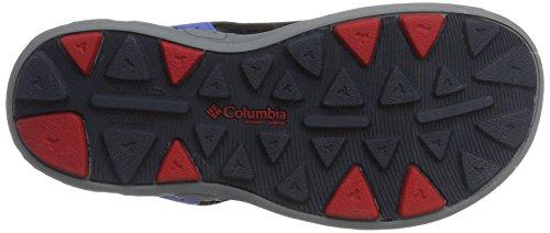Columbia  Youth Techsun Vent, Sandales de randonnée garçon Bleu (Stormy Blue/mountain Red 426)