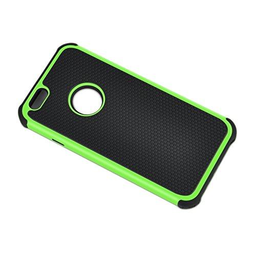 wkae Schutzhülle Case & Cover Fußball Textur Kunststoff Schutzhülle für iPhone 6& 6S grün