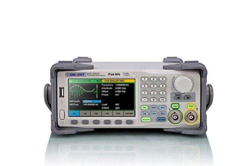Preisvergleich Produktbild Siglent Technologies SDG2042X Arbitrary Waveform Function-Generators, 40 MHz, Grau