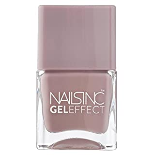 Nails Inc Gel Effect Porchester Square Muted Mushroom 14ml