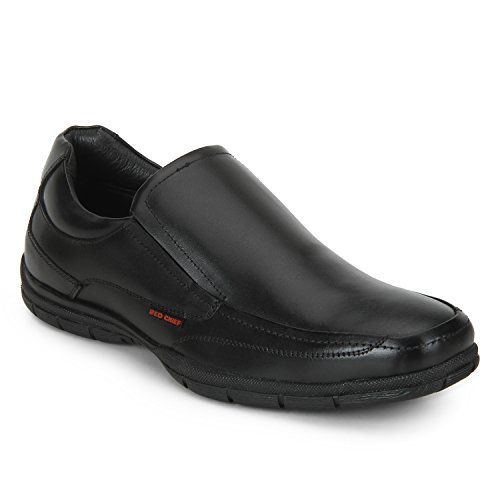Red Chief Men's Black Formal Shoes - 8 UK/India (42 EU)(RC3453 001)