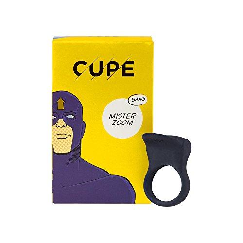 CUPE Mister Zoom vibrierender Penisring, dark grey