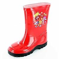 Boys Girls Kids Novelty Moshi Monsters Character Wellies Wellington Rain Boots