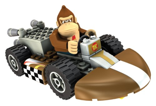K'NEX 33127D - Mario Kart Donkey Kong mit Kart (Luigi Kart Knex)