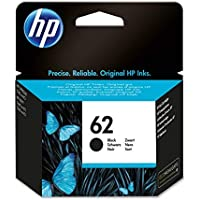 HP 62 C2P04AE Cartuccia Originale per Stampanti HP a Getto d'Inchiostro Compatibile con Stampanti HP Envy All in One 5540, 5642, 5644, 5742, 7640, l'Officejet 5740 e l'Officejet Serie 200, Nero