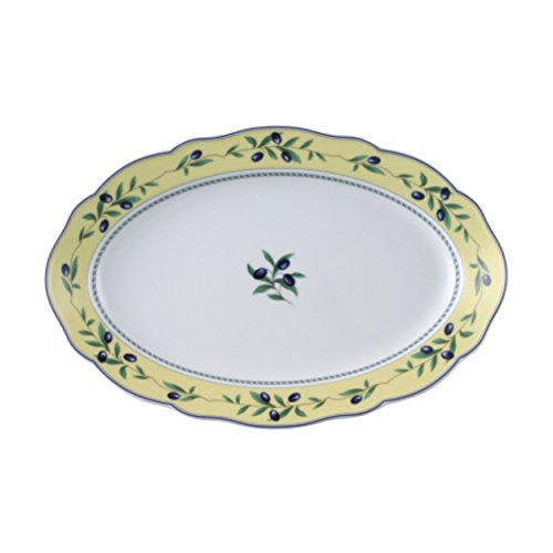 Hutschenreuther Maria Theresia Plateau, Ovale, Medley, Porcelaine, Longueur : 35 cm, 12735
