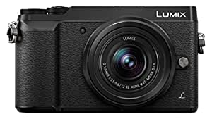 Panasonic DMC-GX80KEBK Digital Single Lens Mirrorless Camera - Black