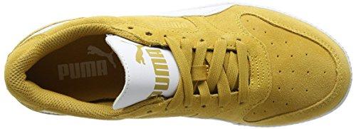 Puma Icra Entraîneur Sd, Sneaker Unisexe Adulto Giallo (moutarde Miel-puma Blanc)