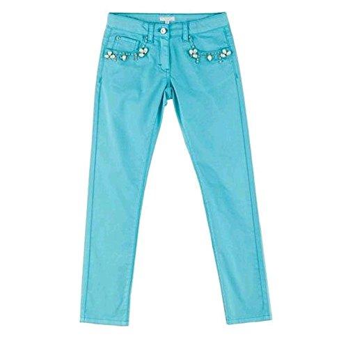 Pantalone artigli lungo con pietre artigli ragazza 8/16 anni a08491