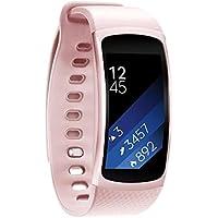 Armbanduhr Band, happytop Silikon Armband Handgelenk Handschlaufe Uhren Ersatz mit Adapter für Samsung Gear Fit 2sm-r360