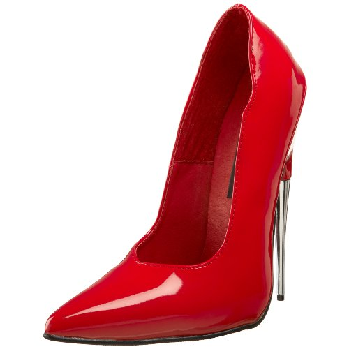 R Femmes Red pat Devious Escarpins SCR01 6awnBxqz