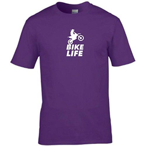 S Tees Herren T-Shirt Violett