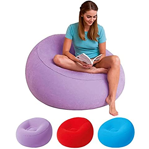 Bestway Aufblasbarer Sessel 112x112x66cm lila - flieder