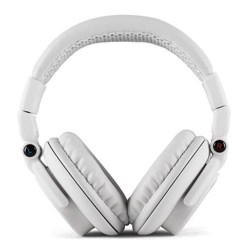 Auna Base On Ear DJ Kopfhörer mit abnehmbaren Kabel (geschlossen, klappbar, weich gepolstert, 15Hz-22kHz) weiß