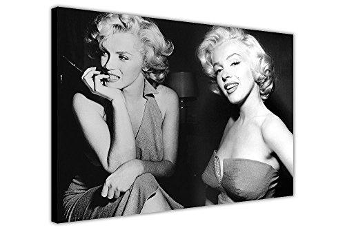 CANVAS IT UP Marilyn Monroe Montage auf Leinwand, Bilder Raum Dekoration Prints Collage Iconic Fotos - Dekoration Foto-print