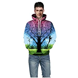 AG & T Männer Frauen Mode 3D Print Herbst Winter Casual Langarm Halloween Paare Hoodies Top Bluse Shirts Outwear