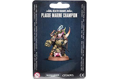 Games Workshop 99070102007Death Guard Pest Marine Champion Miniatur -