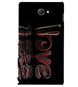 A2ZXSERIES Back Case Cover for Sony Xperia M2 Dual :: Sony Xperia M2 Dual D2302
