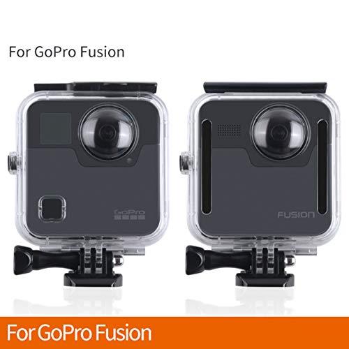 45M subacquea impermeabile Custodia per GoPro Fotocamera 360 ° Fusion copertura protettiva