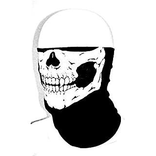 amazing-trading New Skull Skeleton Biker Motorcycle Neck Warmer Mask vicious Bandana