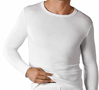 Mens Boys Thermal Underwear Long Sleeve T-Shirt Vest Top Ski Work Winter In 3 Colours Sizes Small Medium Large X Large XX Large (Small, Blue)