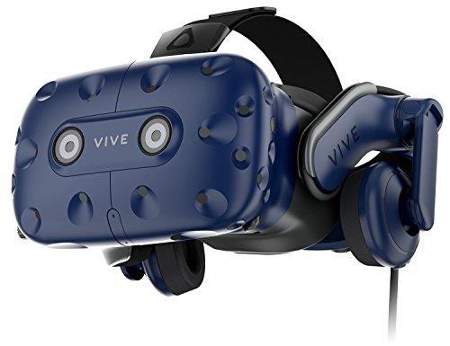 El sistema HTC VIVE PRO VR incluye estaciones base SteamVRTM 2.0, controlador (2018), y todos los accesorios necesarios. Soporta SteamVRTM 2.0 Seguimiento de habitación de hasta 20'x20'