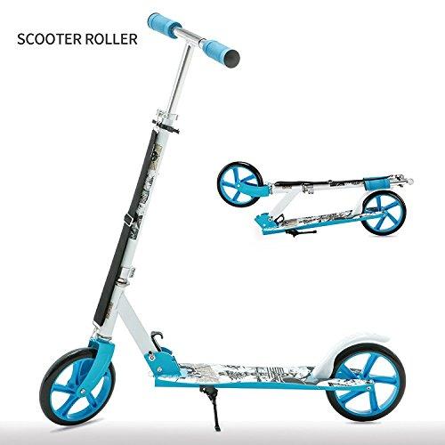 UEnjoy SUNCOO Scooter Roller Klappbar Kickscooter Kinderroller Tretroller Kinderscooter Blau