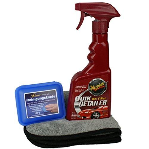 Preisvergleich Produktbild Magic Clean+ Meguiar's Quik Detailer im Paket inkl. Microfasertuch