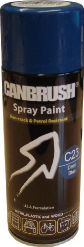 canbrush-specialist-metal-plastic-and-wood-spray-paint-deep-blue-c23-400ml