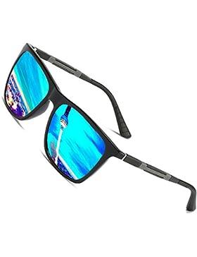 Gafas de sol polarizadas Hombre Mujer vasos para Outdoor Sport, 100% protección UVA/UV 400 gafas unisex Moderno...