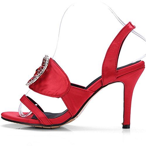 Azbro - Scarpe con cinturino alla caviglia Donna Black