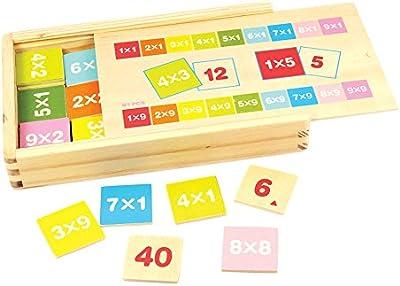 Bigjigs - Caja tablas de multiplicar (BIBJ538)