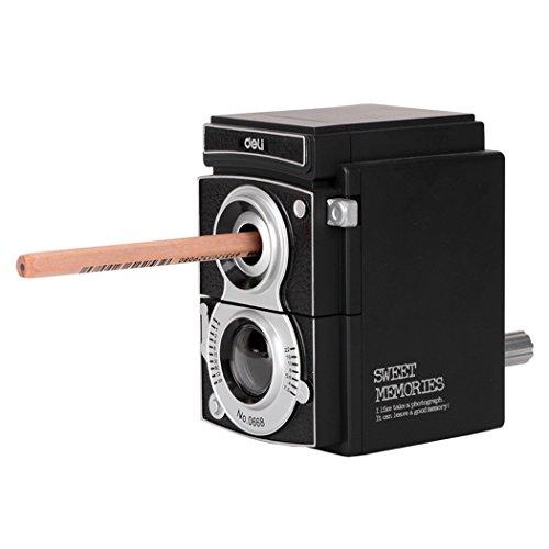 Sipliv temperamatite manuale a coltellino manuale di retro della macchina fotografica per gli allievi scuola, casa, ufficio, studio