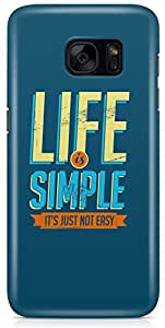 Samsung Galaxy S7 Back Cover by Vcrome,Premium Quality Designer Printed Lightweight Slim Fit Matte Finish Hard Case Back Cover for Samsung Galaxy S7