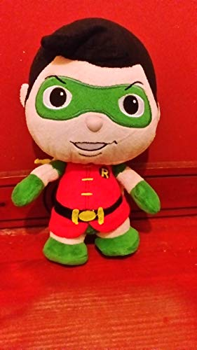Official DC Comics Batman Robin Plush Super Soft Toy - From the Little Mates Range 9""