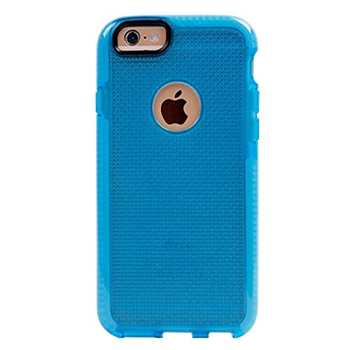 YAN Für iPhone 6 / 6s, Knit Texture TPU Schutzhülle ( Color : White ) Dark Blue
