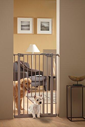 Savic 107 cm Dog Barrier with Cat Door 2