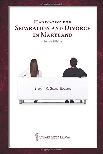 Handbook for Separation and Divorce in Maryland