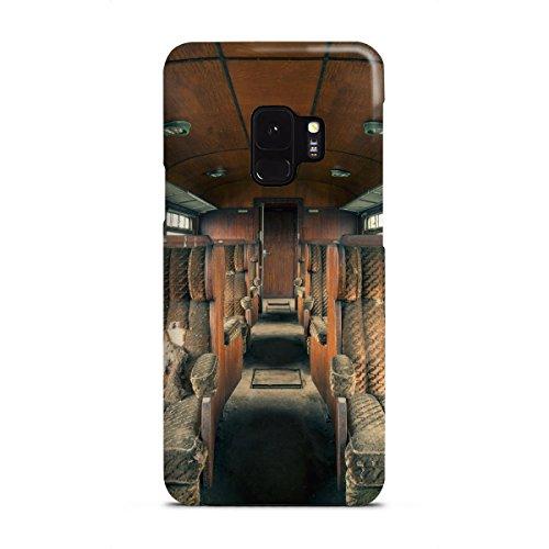artboxONE Samsung Galaxy S9 Premium-Case Handyhülle Holzklasse von Michael Schwan