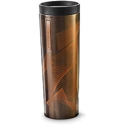 Starbucks acero inoxidable línea vaso de olas, 16Fl Oz (011036183)