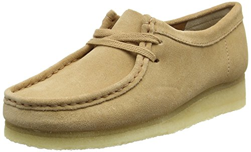 clarks-damen-wallabee-derby-beige-fudge-suede-37-eu